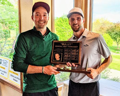 Russ Hiser Memorial 2021 Tournament Champions – Jon Mueller and Dan Schmidtknecht
